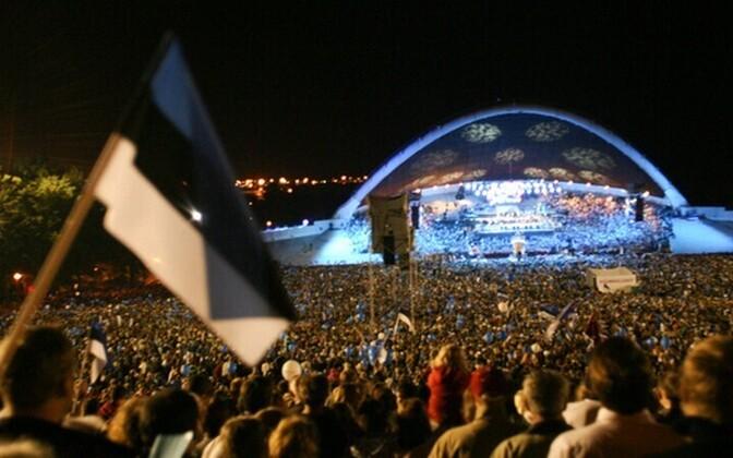 Märkamisaeg Tallinna lauluväljakul