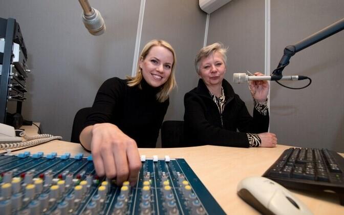 Raadio4 ajakirjanikud Kira Evve ja Olga Shubin.