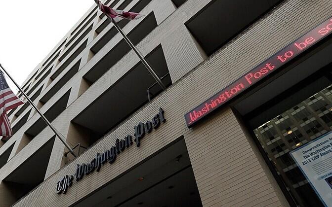 The Washington Posti hoone Washingtonis 5.