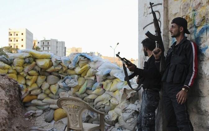 Süüria mässulised.
