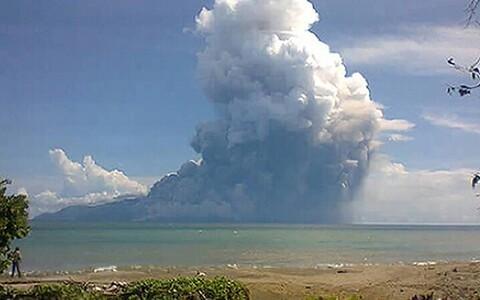 Rokatenda vulkaan.