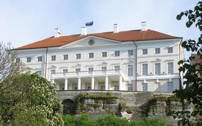 Riigikantselei ehk Stenbocki maja Toompeal.