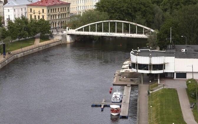 Арочный мост в Тарту.