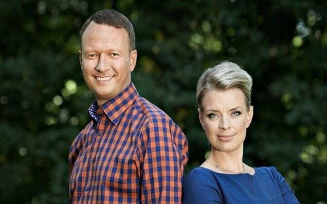 Marko Reikop ja Grete Lõbu on nomineeritud parimate saatejuhtide auhinnale