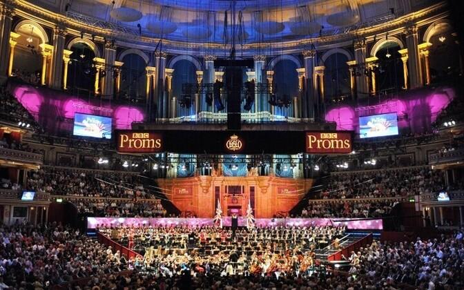 Klassikaraadio featuring classical festival BBC Proms
