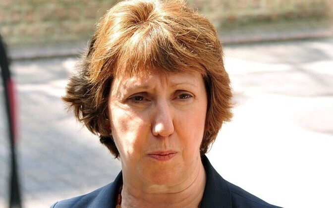 Catherine Ashton, the EU's High Representative for Foreign Affairs and Security Policy
