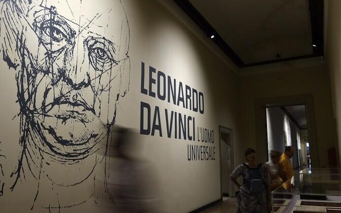 Leonardo da Vinci tööde näitus.