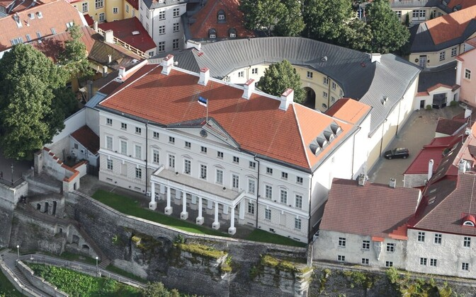 Stenbock House, seat of the Estonian government