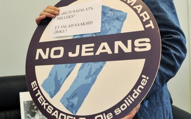Во Французском лицее джинсы под запретом.