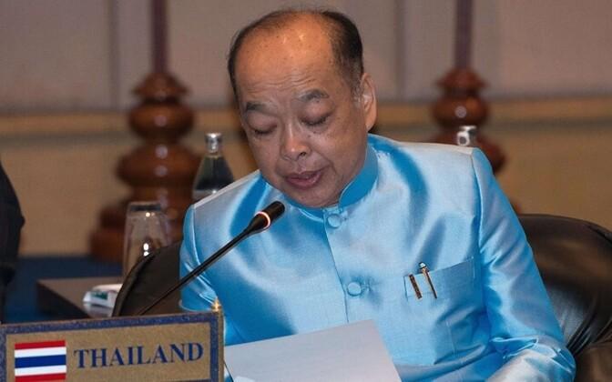 Thai Foreign Minister Surapong Tovichakchaikul