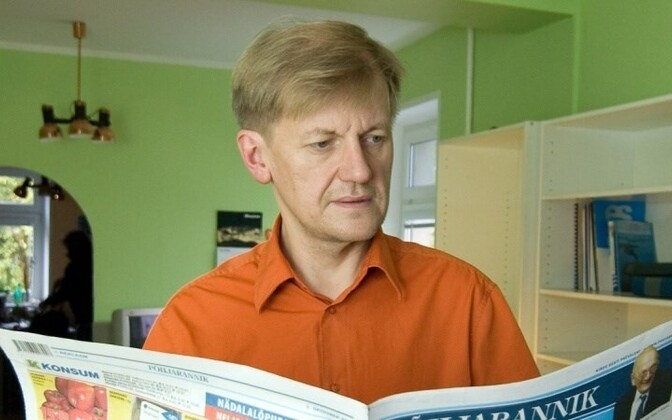Erik Gamzejev is the editor in chief of the newspaper Põhjarannik