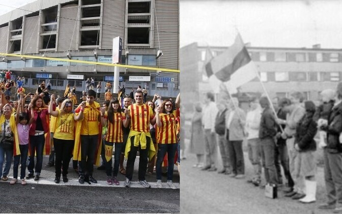 This week's Catalan Way and the Baltic Way of 1989