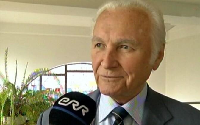 Former Estonian president Arnold Rüütel