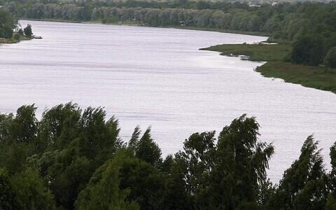 Река Пярну.