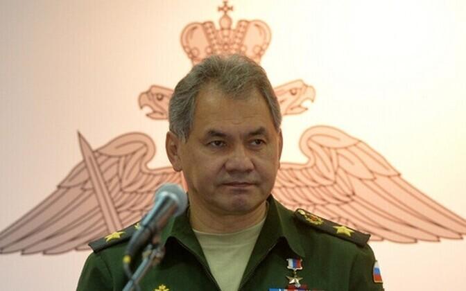Venemaa kaitseminister Sergei Šoigu