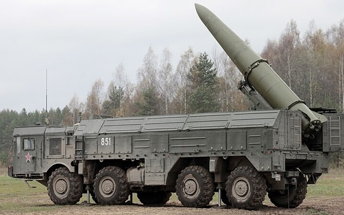 The Iskander missile system.