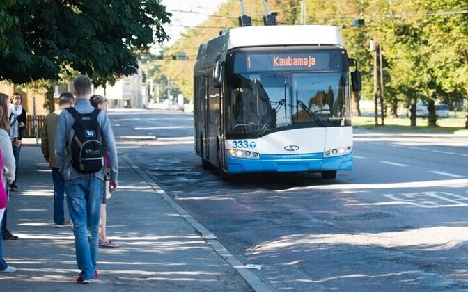 Tallinnas toimub täna ühistranspordiga orienteerumise võistlus Postimees/Scanpix