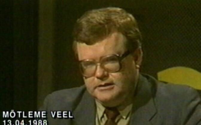 Edgar Savisaar in 1988