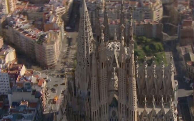 Barcelona kuulus katedraal Sagrada Familia