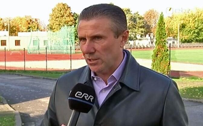 Сергей Бубка регулярно бывает в Эстонии.