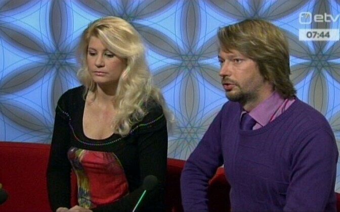 Viktoria Ladõnskaja (left), a Russian-speaking journalist, joined IRL. IRL is considered the least popular Estonian party among ethnic Russians.