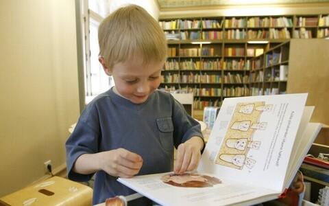 Lapsi tasub lugema innustada.