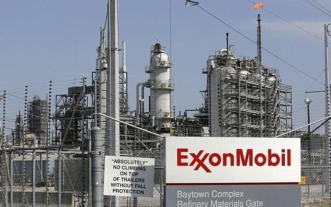 Kompanii Exxon Mobil nafta rafineerimistehas Texases Baytownis Reuters/Scanpix