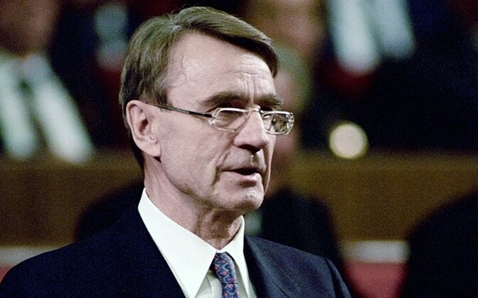 Mauno Koivisto in 1987, during his first term in office.
