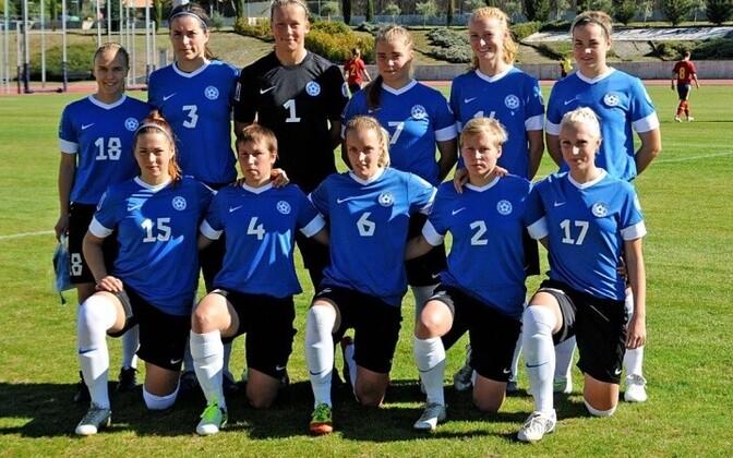 Женская сборная Эстонии по футболу.