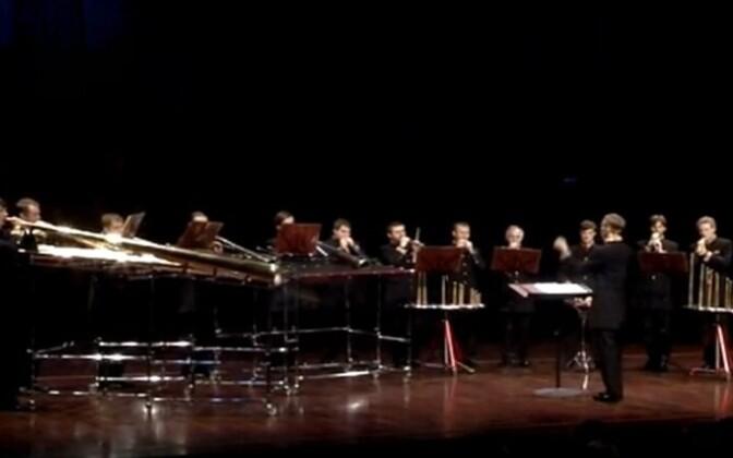 Роговой оркестр.