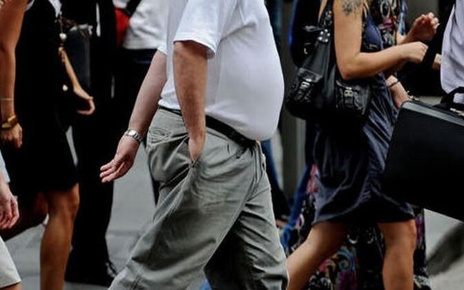 Enam kui kolmandik täiskasvanud eestlastest on rasvunud ehk kehamassiindeksiga üle 30.