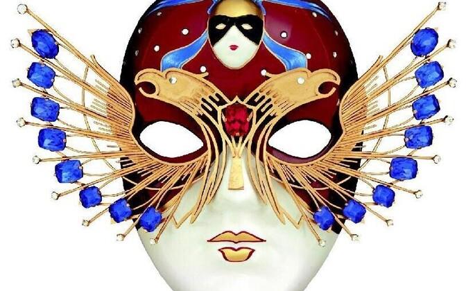 kuldne mask logo