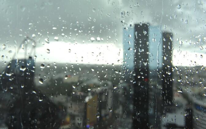 Tallinn in rain