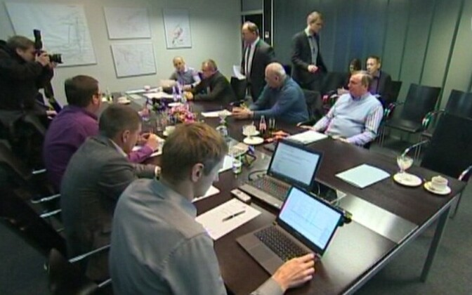 The port's supervisory board at work