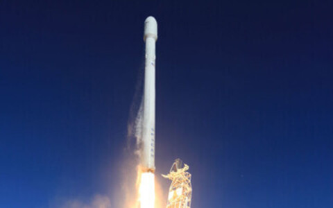 Ракета SpaceX.