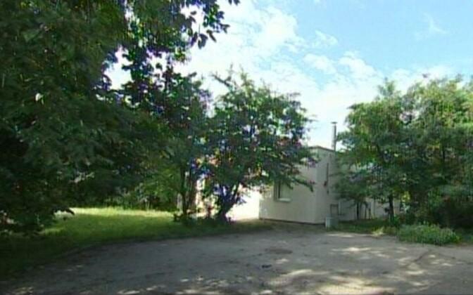 Дом в Пирита, где находился бордель.