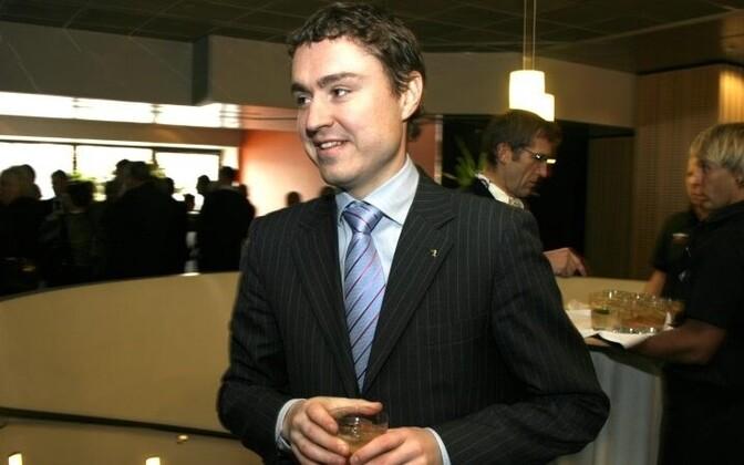 Social Affairs Minister Taavi Rõivas