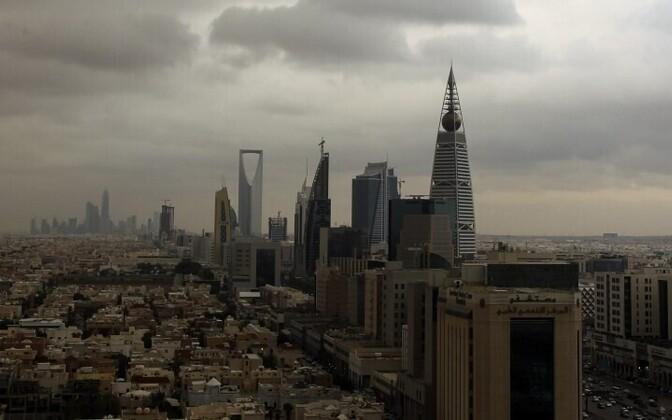 Vaade Saudi Araabia pealinnale Riyadhile.