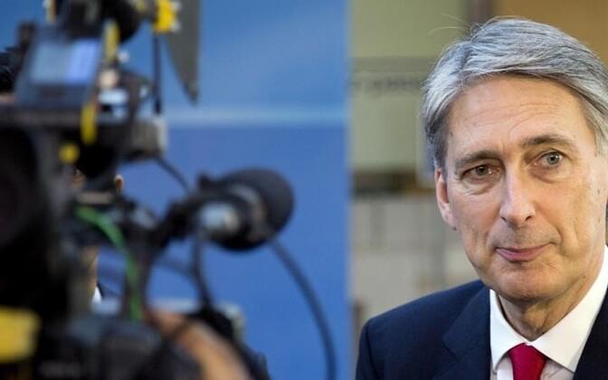 UK Defense Minister Philip Hammond