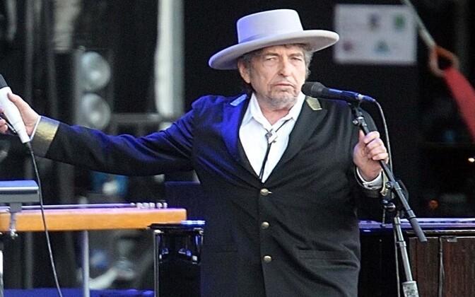 Ameerika legendaarne laulja Bob Dylan.