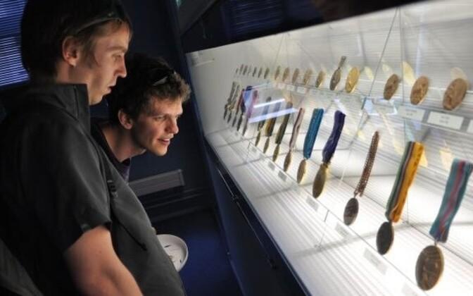 Medalid spordimuuseumis