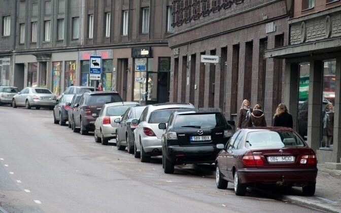 Parkimine Tallinnas.