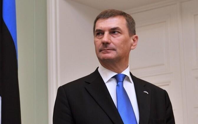 Prime Minister Andrus Ansip