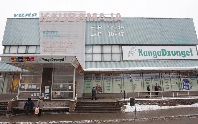 6cce7a67fa0 Vana Tartu kaubamaja asemel tuleb kolmekordne kompleks | Eesti | ERR