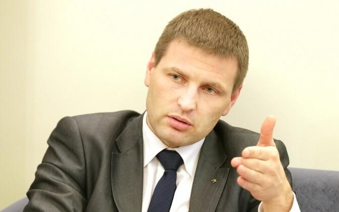 Eesti siseminister Hanno Pevkur