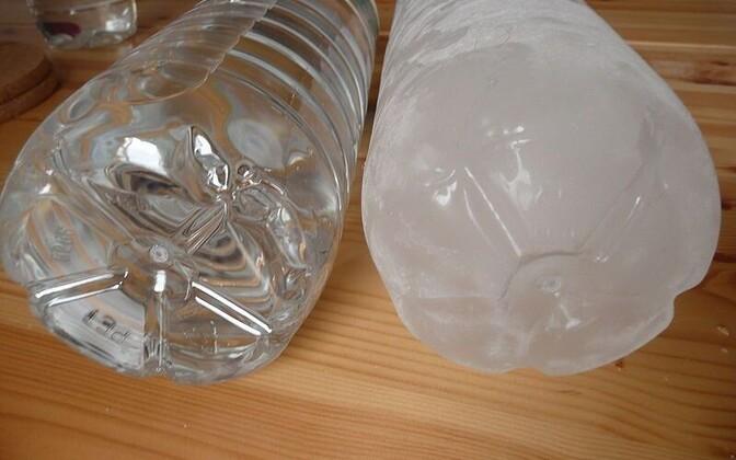 Plastpudelid on sageli üheks BPA-ga kokkupuuteallikaks.