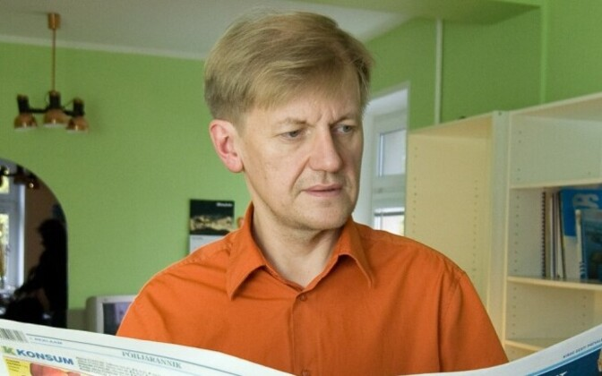 Põhjarannik editor-in-chief Erik Gamzejev.