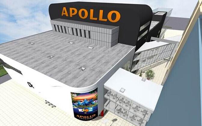 8c1cf36d6bd Apollo avab Pärnus oma esimese kino   Majandus   ERR