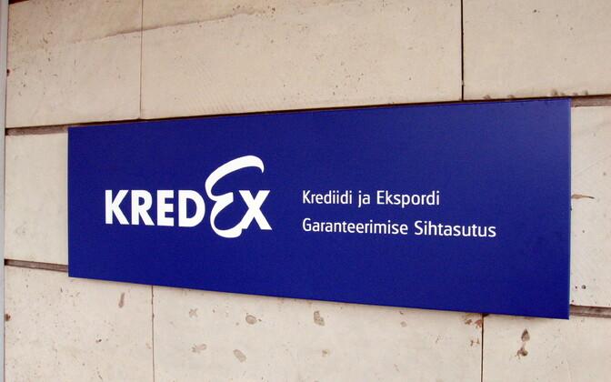 KredEx sign.