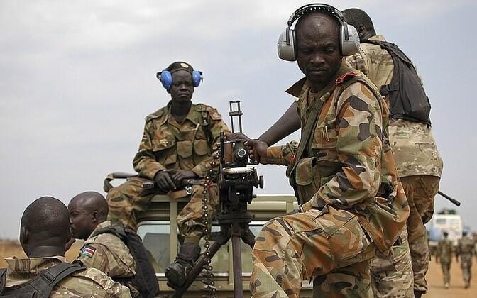 Lõuna-Sudaani rahvavabastusarmee sõdurid.